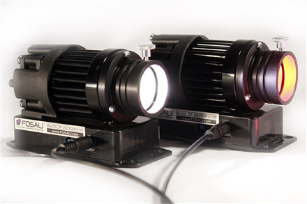 High intensity  LED illuminator in a neutral white colour 4000K, 24VDC.